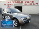 BMW X3 XDrive comes with warranty 2010