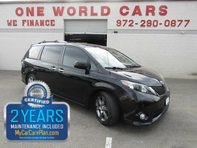 2014 Toyota Sienna SE 1 Owner COMES WITH WARRANTY