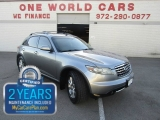 Infiniti FX35 NAV 1 Owner COMES WITH WARRANTY 2008