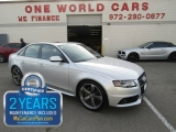 Audi A4 S line Quattro Prestige 1Owner COMES WITH WARRA 2012