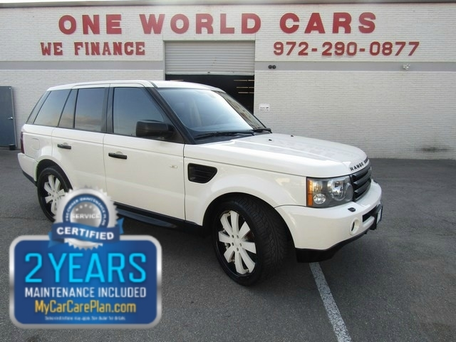 2009 Land Rover RANG ROVER SPORT 4WD SC & COMES WITH WARRANTY