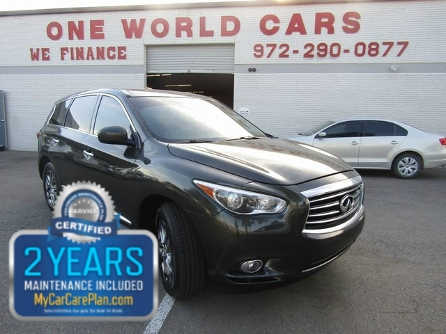 2013 Infiniti JX35 1 OWNER ALL THE SERVICES DONE & COMES WITH WA