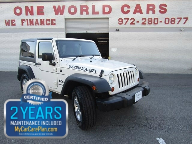 2008 Jeep WRANGLER RHD 2DR COMES WITH WARRANTY