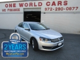 Volkswagen PASSAT SE LEATHER 2013