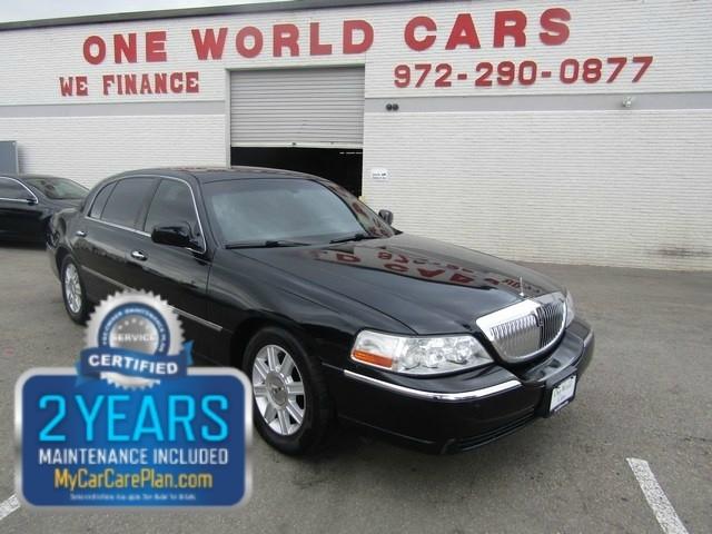 2011 Lincoln Town Car Sdn Executive W Limousine Pkg 223k 6995