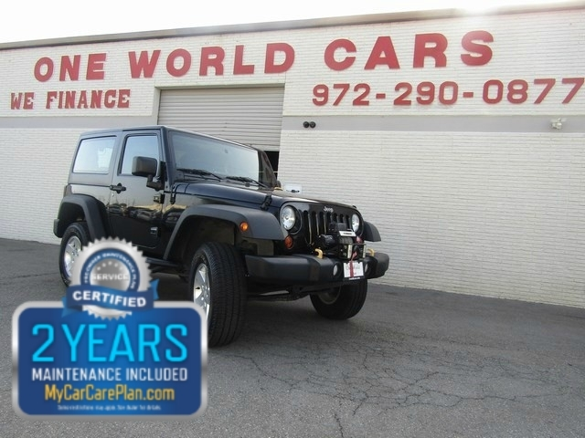 2011 Jeep WRNGLER SPORT 1 OWNER LIFTED