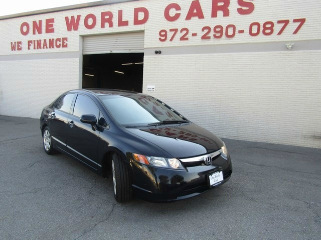 2007 Honda CIVIC LX 1 OWNER AUTO