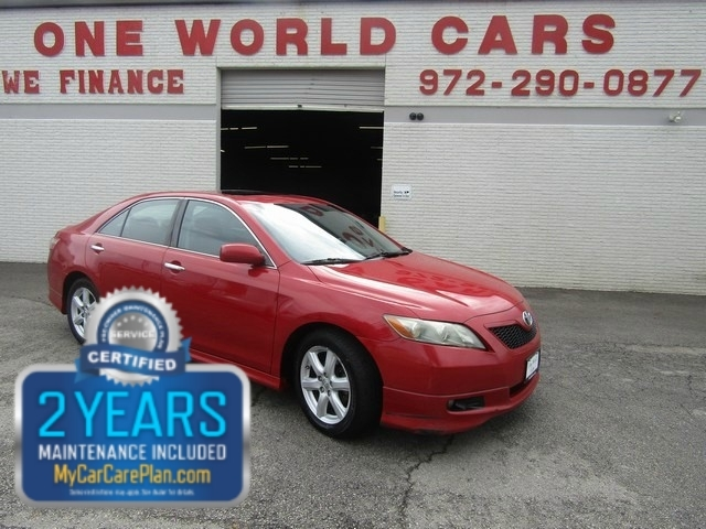 2007 Toyota CAMRY SE ROOF ALLOY