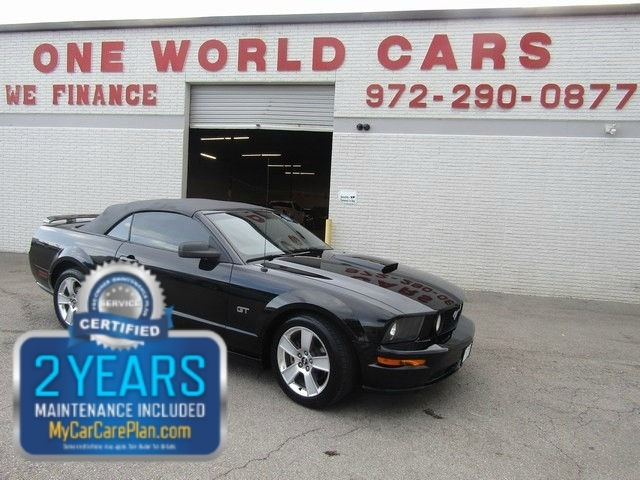 2007 Ford MUSTANG GT CONV AUTO