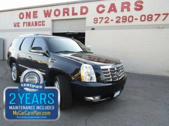 2011 Cadillac Escalade Black/Black