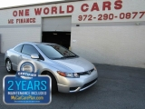 Honda CIVIC 2 DR EX AUTO 1OWNER 2008