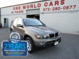 BMW X5 MANUAL 1 OWNER AWD 2004