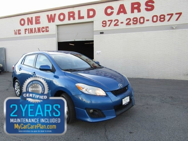 2009 Toyota MATRIX AUTO 4WD 1OWNER