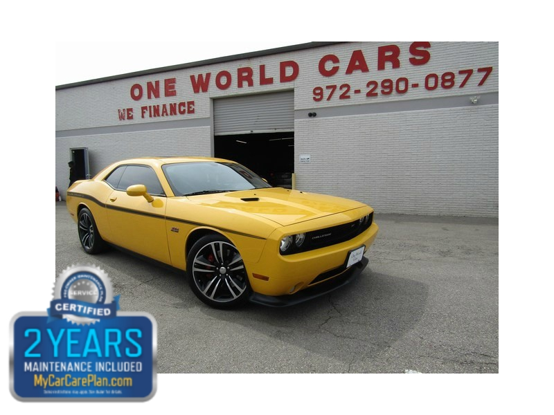 2012 Dodge Challenger Yellow Jacket Srt8 392 96k One World Cars