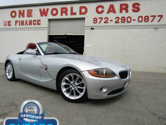 BMW Z4 2.5i Roadster Convertible 2004 price $7,777 Cash