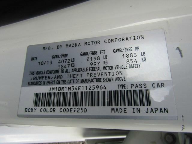 Mazda MAZDA3 GT NAV 1OWNER 2014 price $9,777 Cash