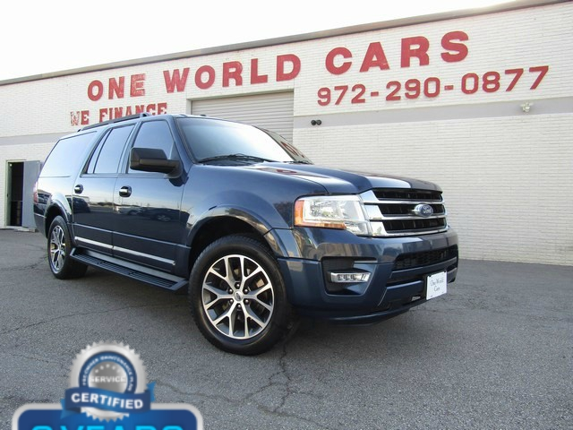 Ford EXPEDITION EL XLT LEATHER 2015 price $15,777 Cash