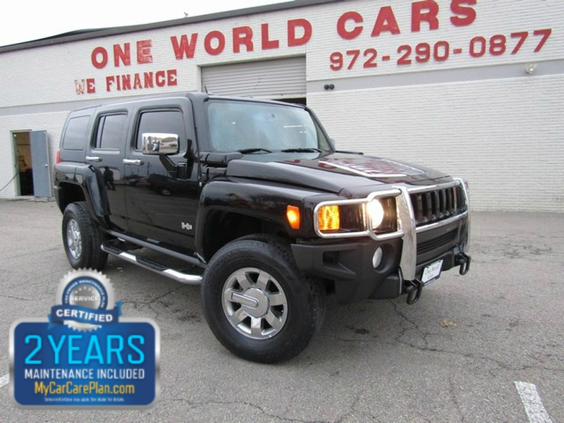 Hummer H3 AWD 1 OWNER LEATHER 2007 price $7,977 Cash