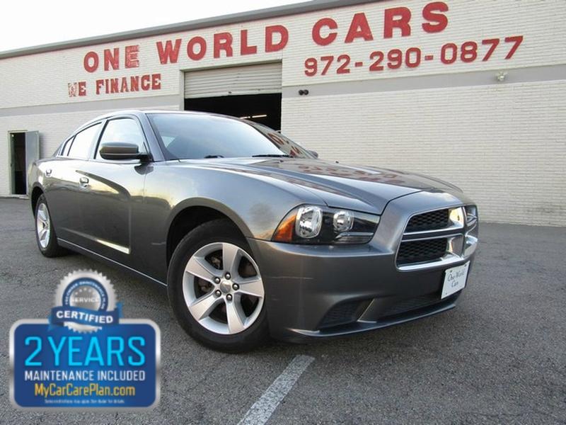 Dodge CHARGER SE 1 OWNER 2012 price $8,995 Cash