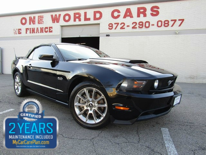 FORD MUSTANG GT CON MAN 1OWNER 2011 price $13,995 Cash