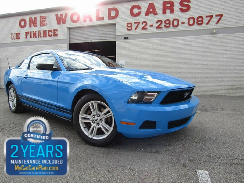 Ford Mustang 1-OWNER 2010 price $7,995 Cash
