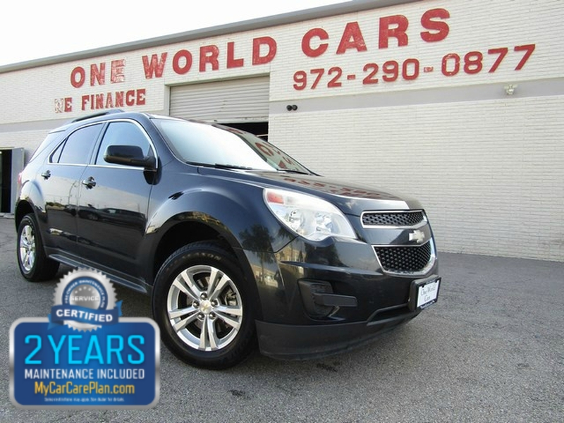 Chevrolet Equinox LT One Owner 2013 price $7,495 Cash