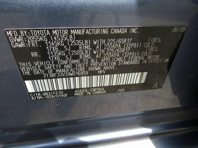 Toyota RAV-4 SPORT AWD AUTO 2009 price $7,495 Cash