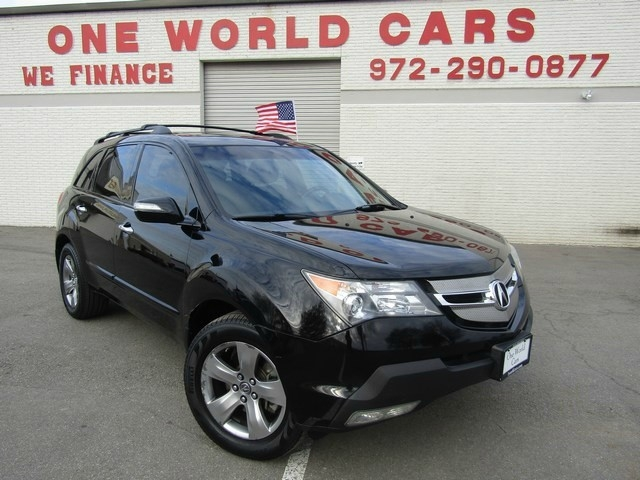 2007 acura mdx 4wd 4dr sport entertainment pkg inventory