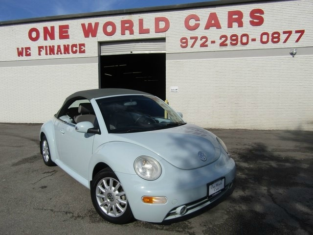 2005 Volkswagen New Beetle Convertible Gls Auto Warranty