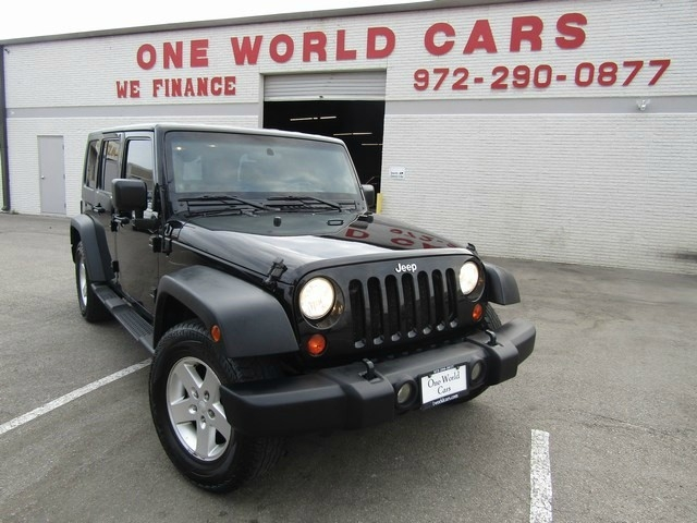 2009 Jeep Wrangler Unlimited 4 door X Auto