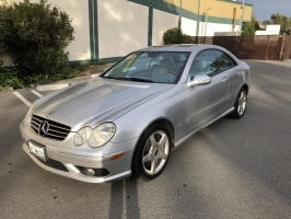 Mercedes-Benz CLK500 2005