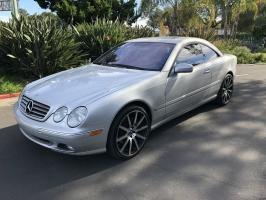 Mercedes-Benz CL500 2002