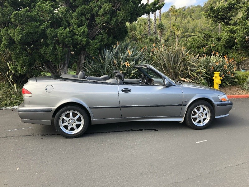 Saab 9-3 SE Convertible 2003 price $4,300