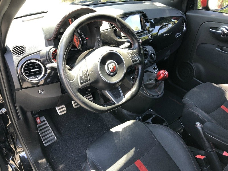 Fiat 500 Abarth 2013 price $7,850