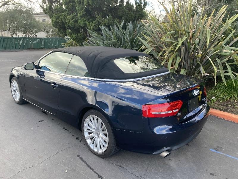 Audi A5 Cabriolet 2012 price $12,500