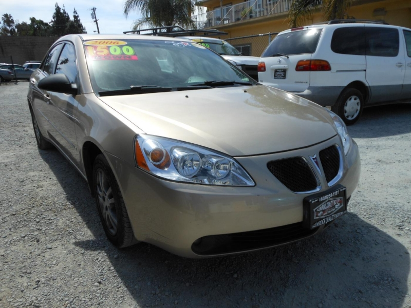 PONTIAC G6 2006 price Call for Pricing.