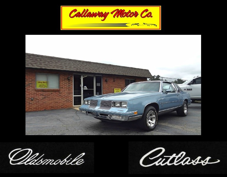 1986 Oldsmobile Cutlass Supreme Brougham for sale VIN: 1G3GM47Y2GP350673