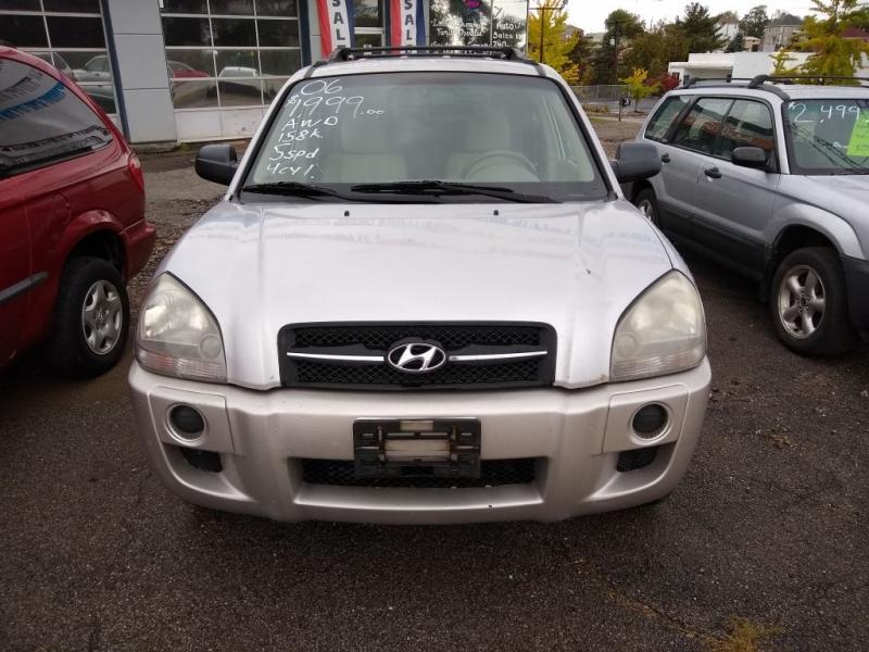 HYUNDAI TUCSON 2006 price $1,999