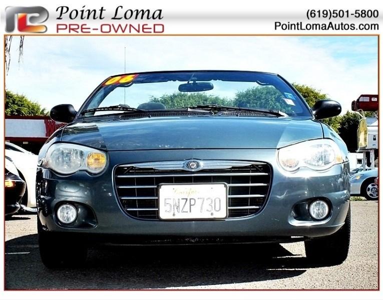 Chrysler Sebring Touring Convertible 2006 price $4,500