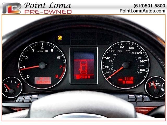 Audi A4 2.0 Turbo 7 Speed CVT 2006 price $10,950