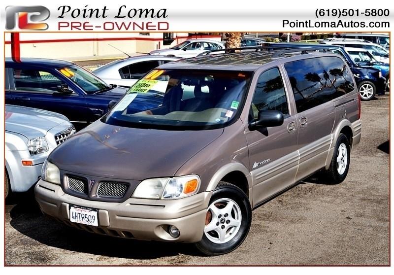 Pontiac Montana Luxury Extended Van 2000 price $2,995