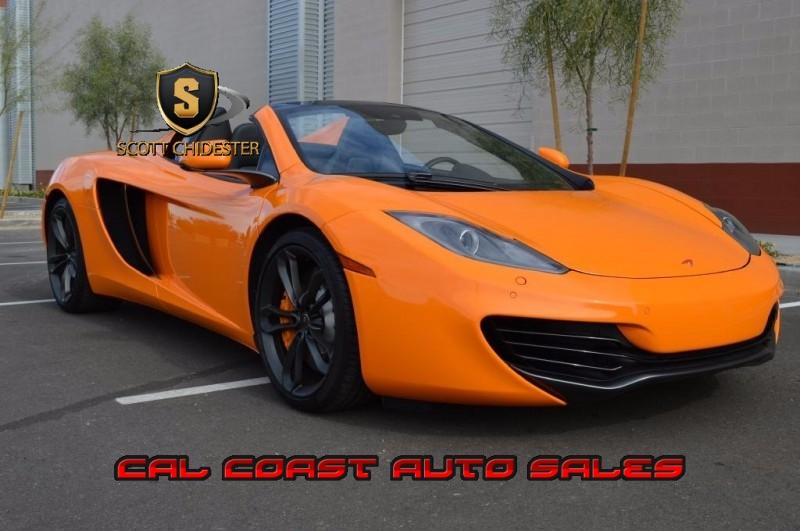 McLaren MP4-12C 2014 price $75,000