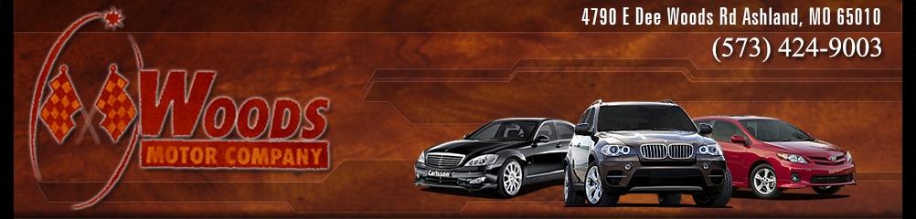 Woods Motor Company. (573) 424-9003