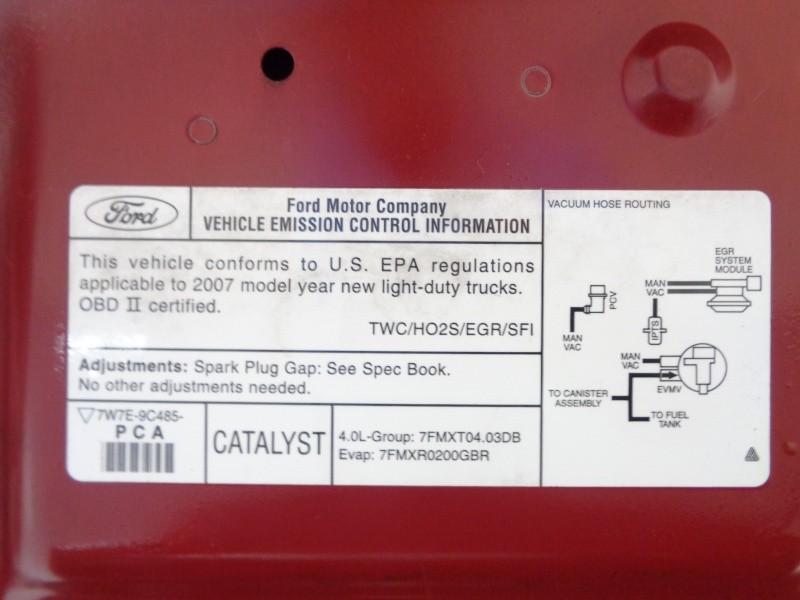 Ford Explorer Sport Trac 2007 price $9,995