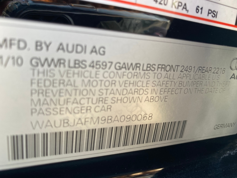 Audi A3 2011 price $11,995