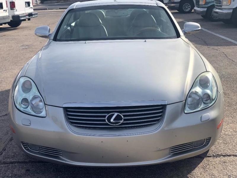 Lexus SC 430 2002 price $11,995