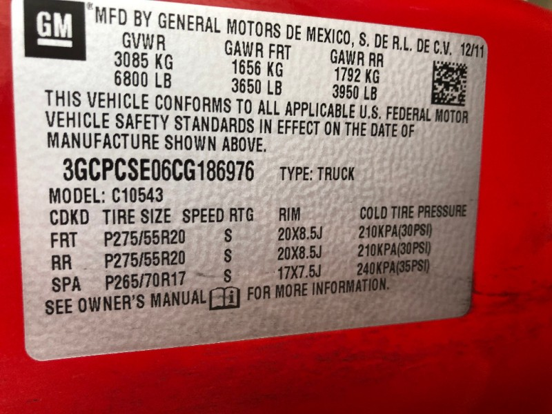 Chevrolet SILVERADO TEXAS EDITION 2012 price $16,888