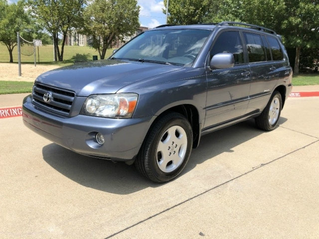 2007 Toyota HIGHLANDER LTD 3RD ROW