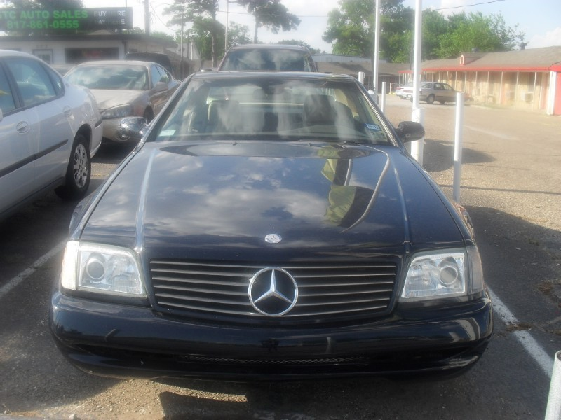 2002 Mercedes-Benz SL-Class