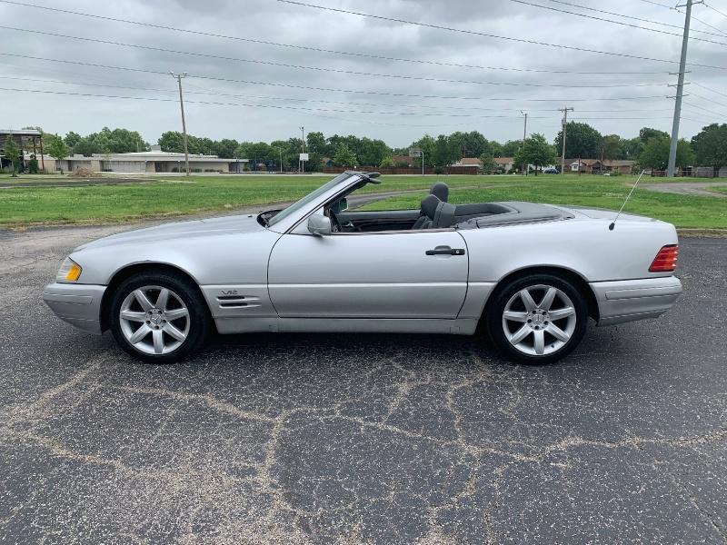 Mercedes-Benz SL-Class 1998 price $11,998